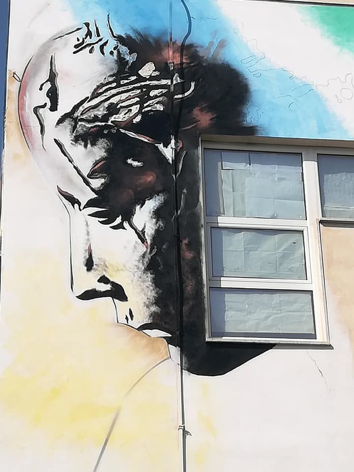 Street Art ad Ardea: alla scuola Giacomo Manzù un murale in ricordo dell'artista 1
