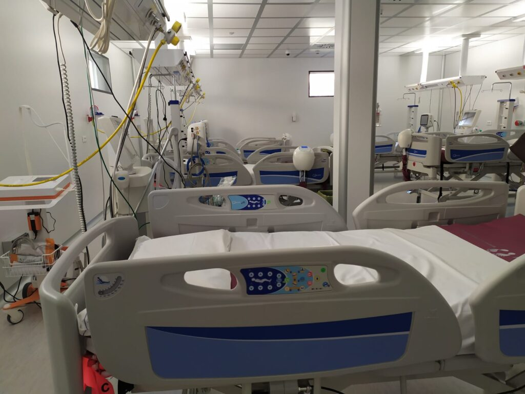 nuova terapia intensiva covid grassi