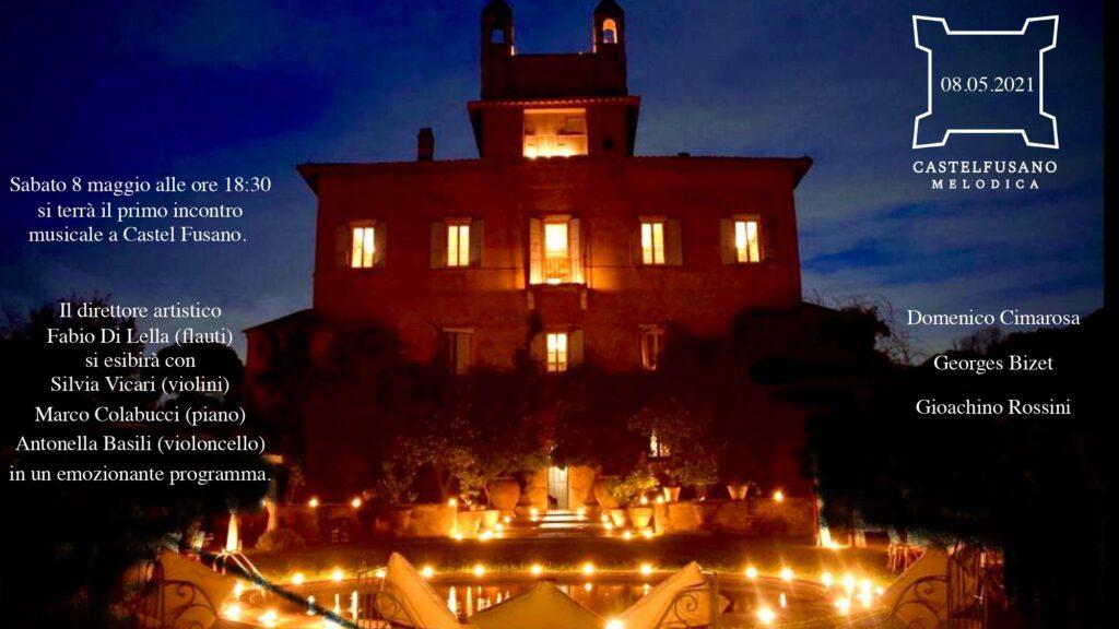 """Musica nel Castello Chigi da maggio con """"Castel Fusano Melodica"""" 1"""