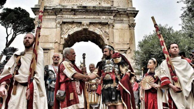 Il Natale di Roma 2021 con il Gruppo Storico Romano 1