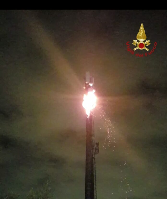 5g vigili fuoco
