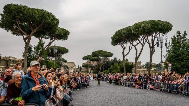 Il Natale di Roma 2021 con il Gruppo Storico Romano 3