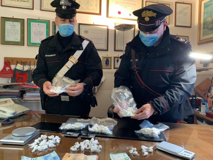 cocaina carabinieri civitavecchia