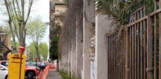 ex GIL muro pericolante