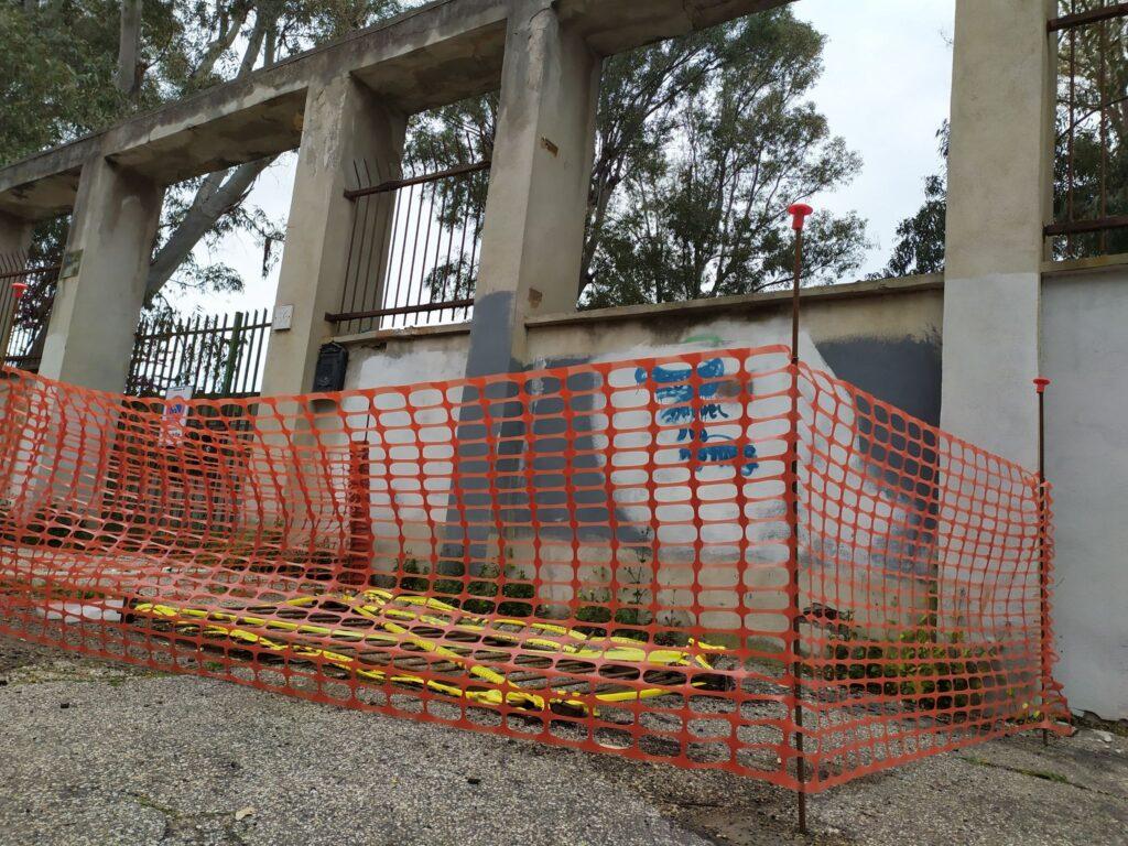 Ostia, muro pericolante all'ex GIL: restauro al palo 1