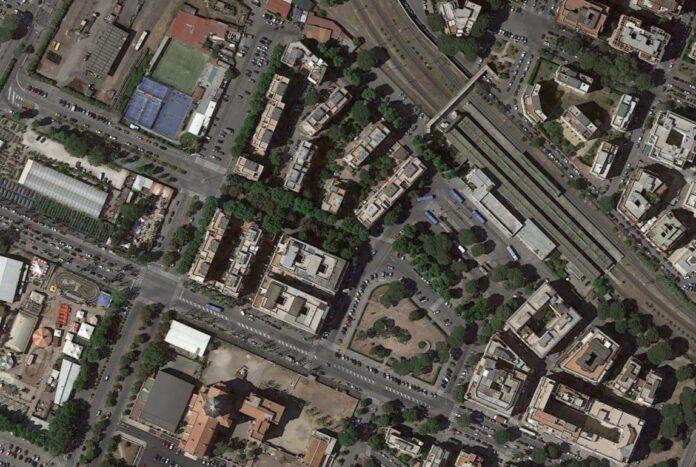 Lido Centro dal satellite
