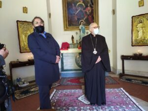 Ostia, il Metropolita Giovanni di Dubna benedice la nuova chiesa della comunità russa (VIDEO) 2