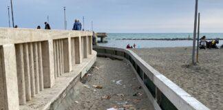 varco spiaggia Pontile