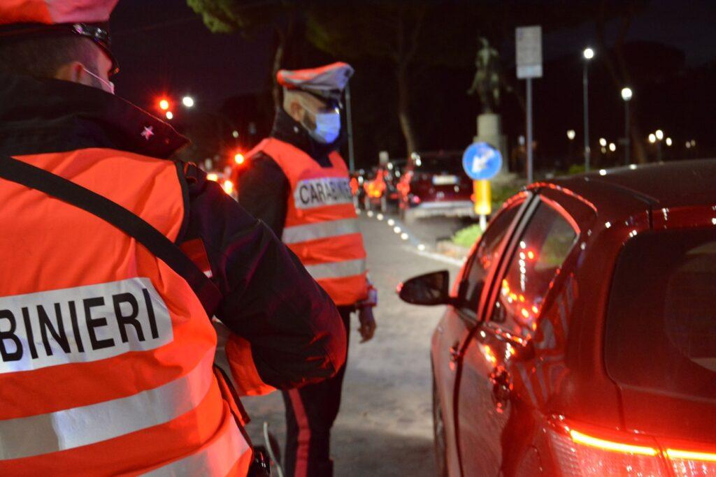 controlli carabinieri centro roma