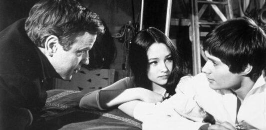 Franco Zeffirelli gira Romeo e Giulietta