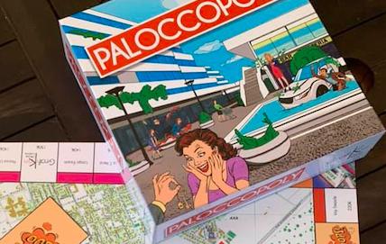 Ecco Paloccopoly, Casal Palocco e Axa come Monopoly 1