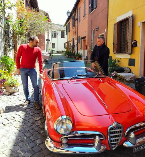 Il Borgo di Ostia Antica, set dell'ultimo film con Pierfrancesco Favino 4