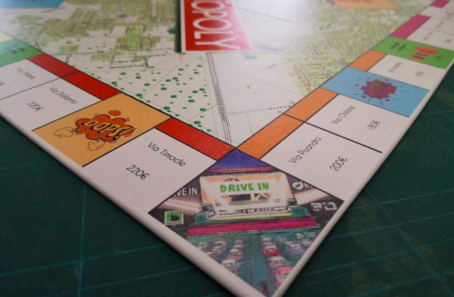 Ecco Paloccopoly, Casal Palocco e Axa come Monopoly 2