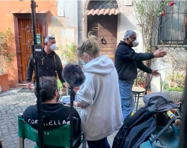 Il Borgo di Ostia Antica, set dell'ultimo film con Pierfrancesco Favino 2
