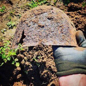 Nettuno, ritrovato un elmetto risalente alla Seconda Guerra Mondiale 2