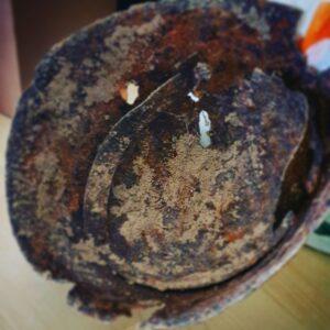 Nettuno, ritrovato un elmetto risalente alla Seconda Guerra Mondiale 4