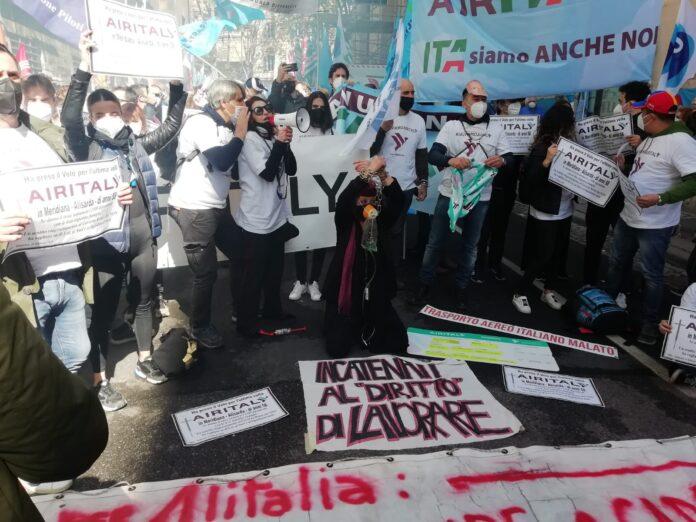 manifestazione-alitalia