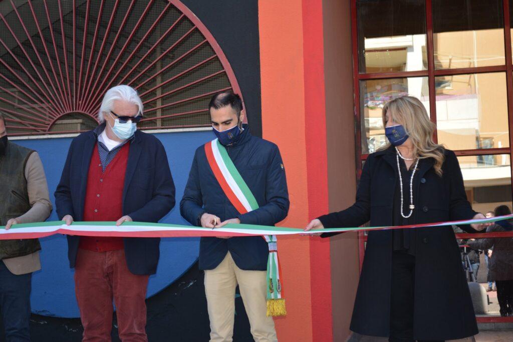 inaugurazione biblioteca pomezia