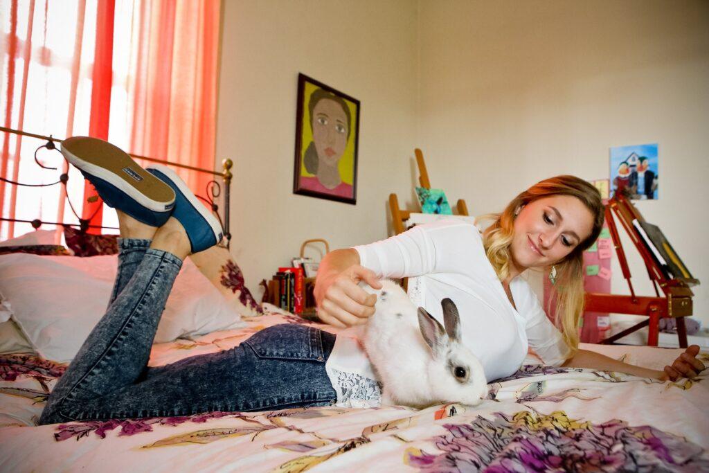 Il coniglio domestico: un vero amico silenzioso per il supporto emotivo dei malati 2