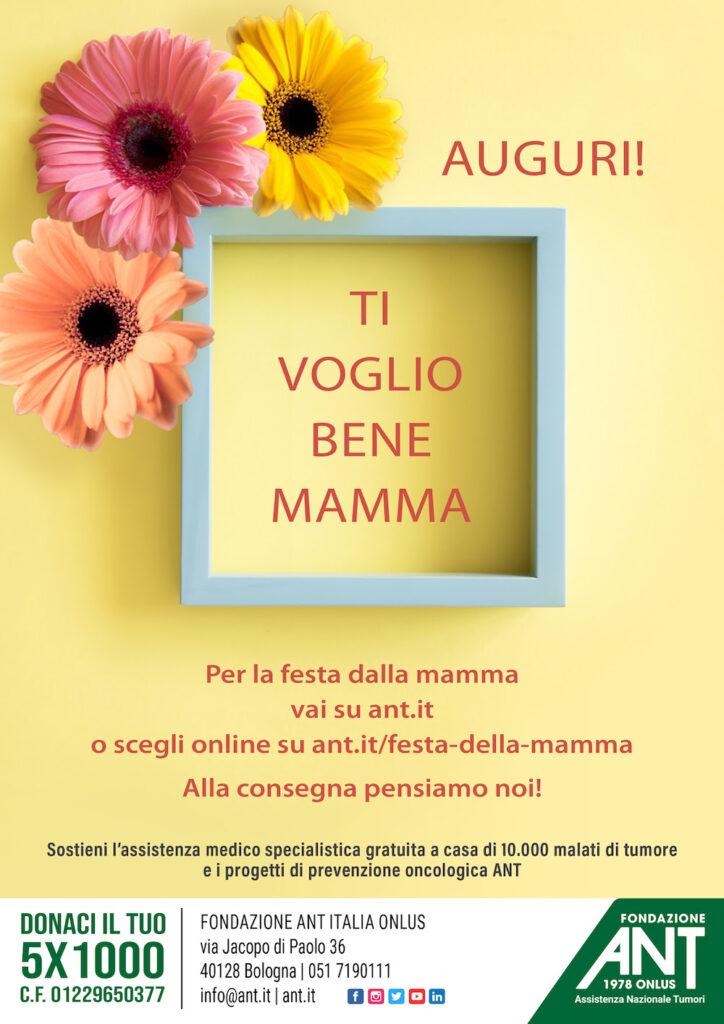 ANT: Festa della mamma nel segno della solidarietà 1