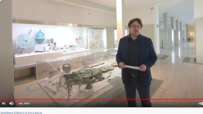 Incontro con Valentino Nizzo, Direttore del Museo Nazionale Etrusco di Villa Giulia 3