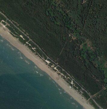 spiaggia libera di Castelporziano Cancelli