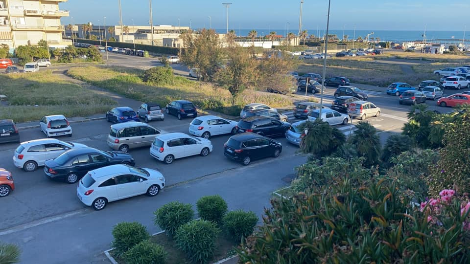 Traffico impazzito in uscita da Ostia (VIDEO) 1
