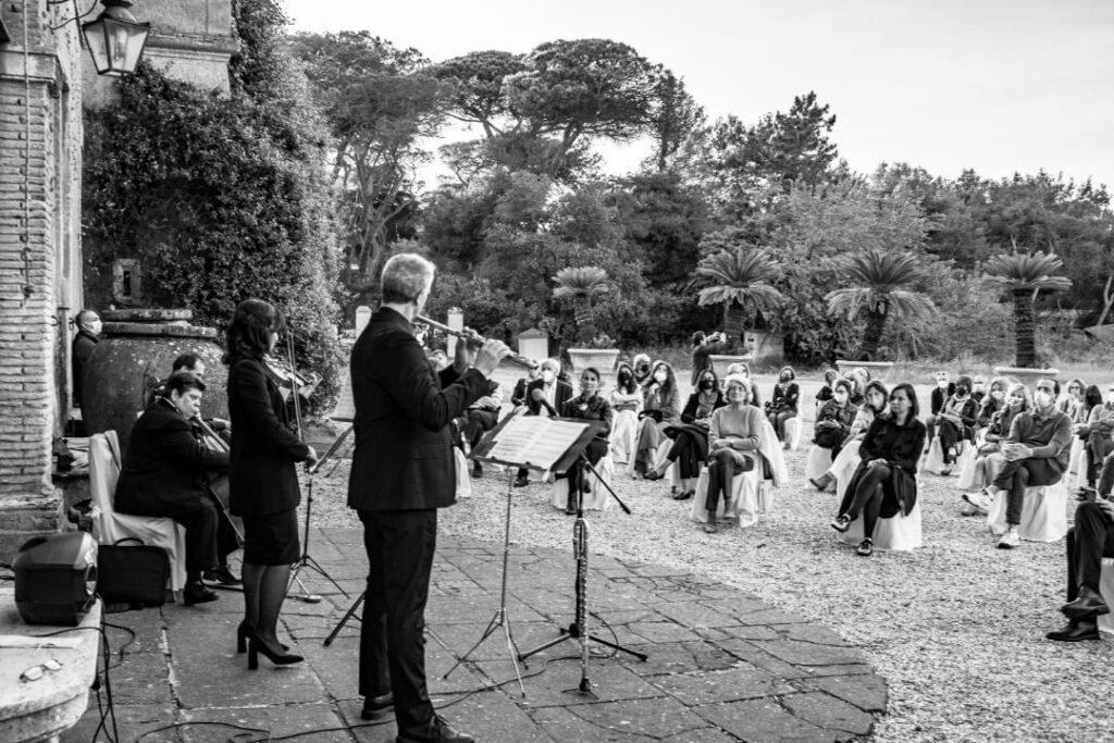 """Musica, arte e storia: Castello Chigi aperto con """"Castel Fusano Melodica"""" 1"""