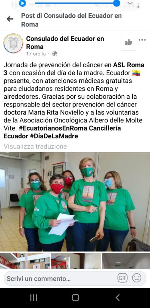 Open day Asl Roma 3: quasi 1000 test effettuati per la prevenzione oncologica 2
