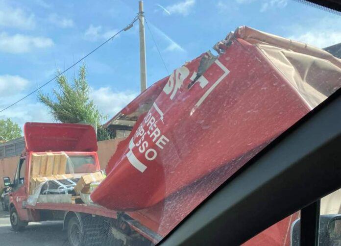 incidente ponte via di malafede camion