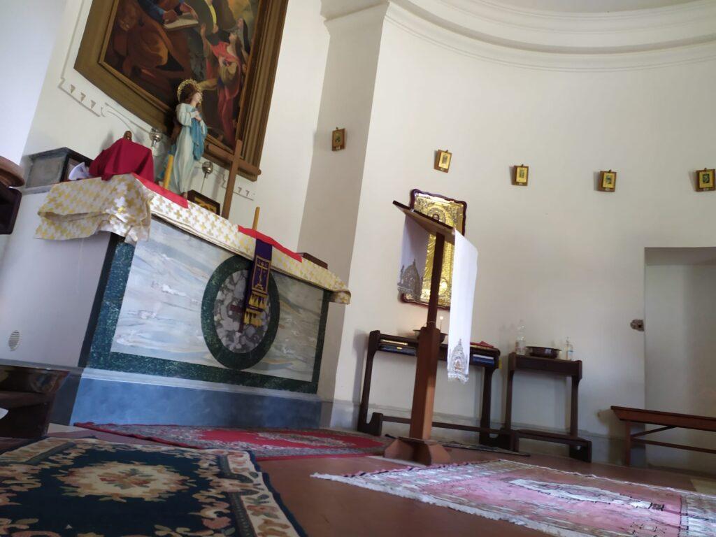 San Nicola, le sue reliquie a Ostia per la liturgia della chiesa russa 1