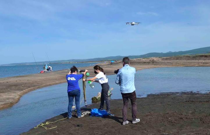 Enea e Università alla ricerca di microplastiche tra fiumi e costa romana 1