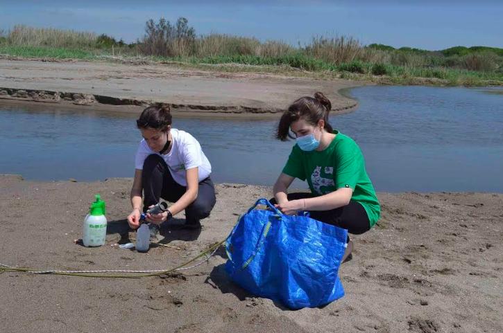 Enea e Università alla ricerca di microplastiche tra fiumi e costa romana 2