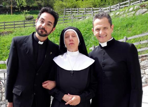"""Enzo Salvi di nuovo sul set, per la serie Tv """"Din Don"""" 3 e 4 2"""