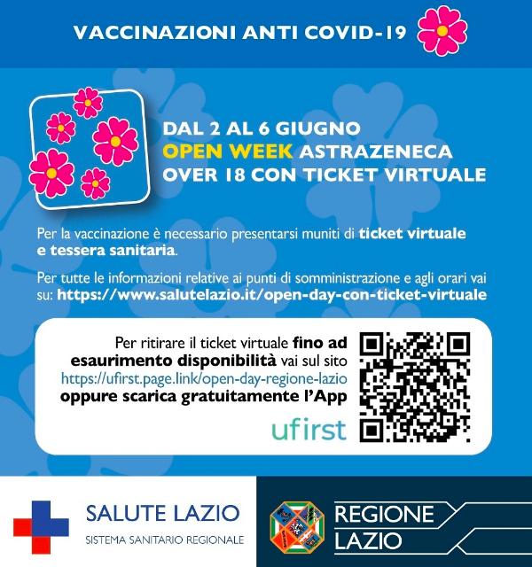 """Vaccini, al via slot per over 18. Regione Lazio: """"Presto in zona bianca"""" 1"""