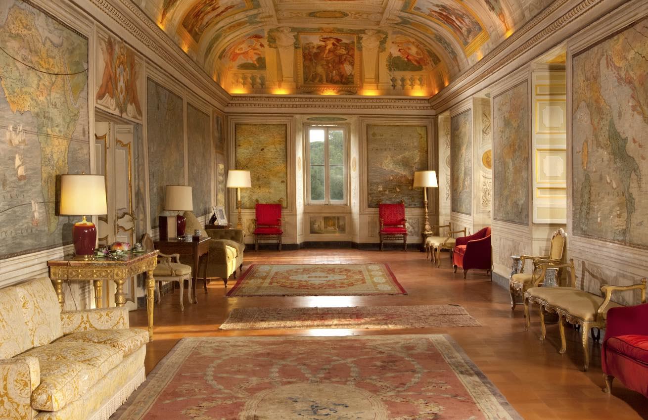 castel fusano melodica palazzo
