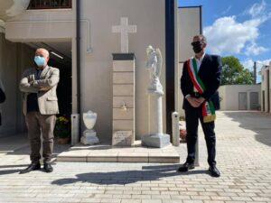 Nettuno, inaugurato un monumento per ricordare le 59 vittime del Covid-19 1
