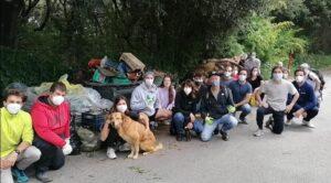 Fregene, i volontari puliscono la Lecceta: trovati anche water e bidet (VIDEO) 2