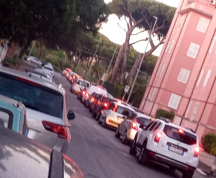 Traffico impazzito in uscita da Ostia (VIDEO) 2