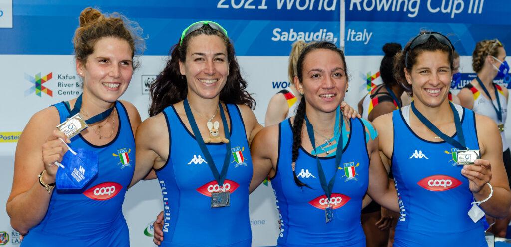 Coppa del Mondo di Canottaggio: per l'Italia un bottino di 14 medaglie 1
