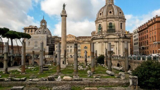 La Colonna Traiana: il suo clone in 2D è a Ostia Antica 1