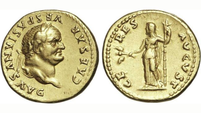 Auguri a Vespasiano, imperatore di Roma creatore del Colosseo e inventore degli orinatoi 5