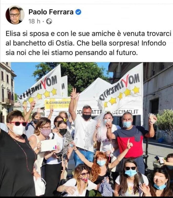 Gaffe di Paolo Ferrara (M5S), contestato all'Addio al nubilato 1