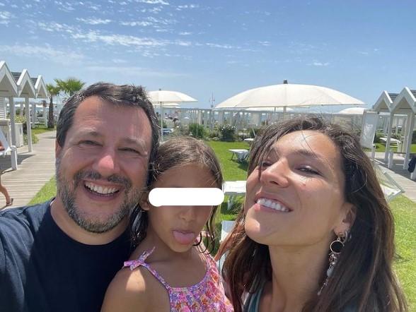 Matteo Salvini a Ostia