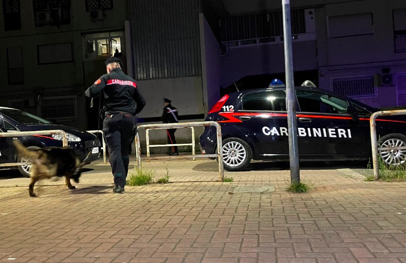 Servizio antidroga dei Carabinieri: 4 arresti in poche ore a Tor Bella Monaca 2