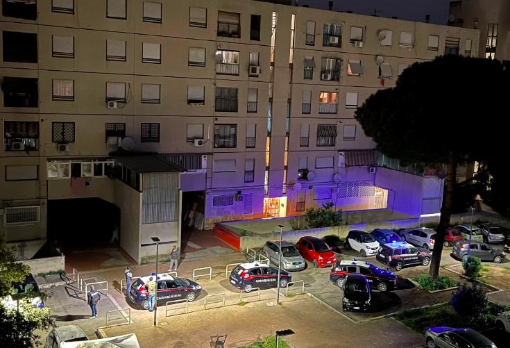 Servizio antidroga dei Carabinieri: 4 arresti in poche ore a Tor Bella Monaca 1