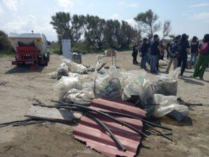 """Focene: 70 volontari Adr al lavoro per pulire la spiaggia di """"Pesce Luna"""" 2"""