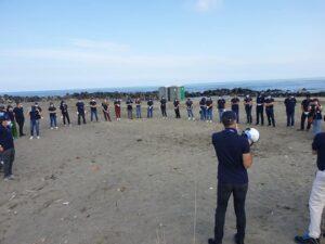 """Focene: 70 volontari Adr al lavoro per pulire la spiaggia di """"Pesce Luna"""" 1"""