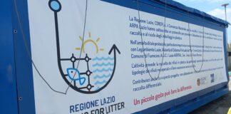 fishing for litter fiumicino riciclo