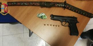 denunciato detenzione armi